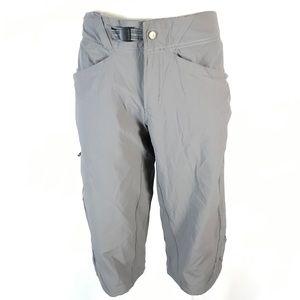 Mountain hardwear outdoor nylon Capri pants